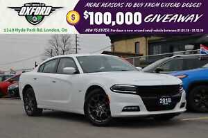 2018 Dodge Charger GT -  clean carproof, wifi hotspot capable,
