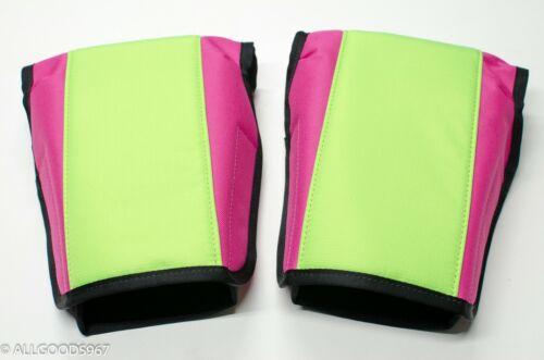 Neon green/pink BAR MITTS for Ultralight Hang Gliding mitten muff hand fairings