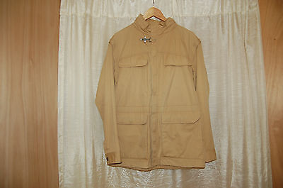 FAY Beige Safari Jacket Size M Made in Italy