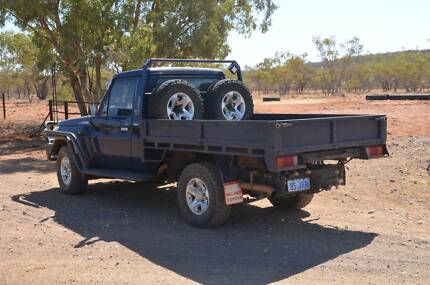 2008 Toyota LandCruiser Ute Cloncurry Central West Area Preview