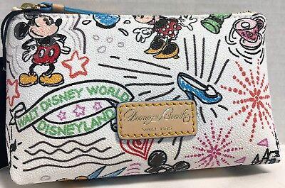 NEW*Dooney & Bourke*Disney Parks*Sketch*Cosmetic/Utility Bag*18290A S220