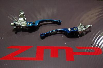 HONDA TRX 450R ELECTRIC START 06 - 12 C6 ASV CLUTCH AND BRAKE LEVERS BLUE