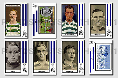 QPR -  CIGARETTE CARD HISTORY 1900-1939 - Collectable postcard set # 1