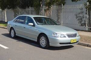 2003 Ford Fairlane GHIA 4.0 AUTO,AIR,STEER,LEATHER,LOG BOOKS Pendle Hill Parramatta Area Preview