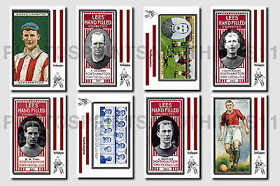 NORTHAMPTON -  CIGARETTE CARD HISTORY 1900-1939 - Collectable postcard set # 1