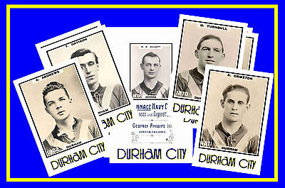 DURHAM CITY - RETRO 1920's STYLE - NEW COLLECTORS POSTCARD SET