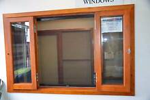 BIFOLD FRENCH WINDOWS, SOLID CEDAR TIMBER, 2400WX1200H, 6mm Gls Vineyard Hawkesbury Area Preview