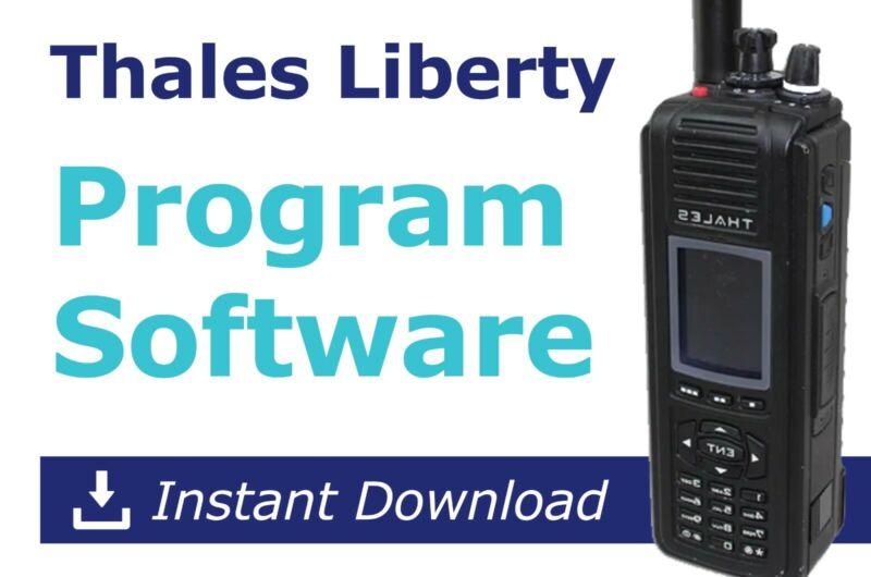 Thales Liberty Radio Programming Software (Latest version) (DOWNLOAD)