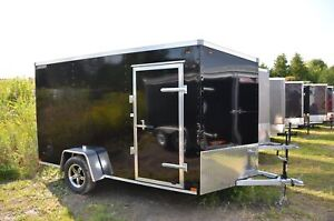 2020 MVM7 6.5x12 Aluminum Enclosed Trailer