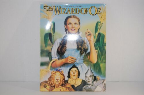 """WIZARD OF OZ """"VOCAL SELECTIONS"""" SHEET MUSIC 40 PG BOOK MINT"""