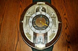 Seiko QXM487BRH Collector Edition 2012 18 Melodies in Motion Clock Musical Works