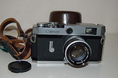 Canon-P Vintage Japanese Rangefinder Camera. Serviced. 708414. UK Sale