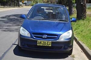 2006 Hyundai Getz Hatchback MANUAL,AIR,STEER Pendle Hill Parramatta Area Preview