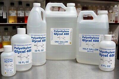Polyethylene Glycol Peg 400 - Usp Food Grade Kosher 99.7 Certified
