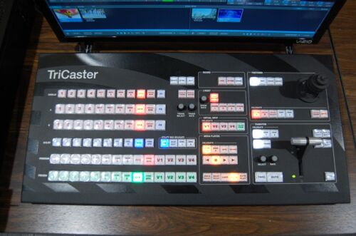 NewTek TriCaster Control Surface TCXD455 CS, works with 450, 455, and 460