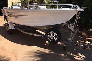 Quintrex 470 Topender Boat Port Hedland Port Hedland Area Preview