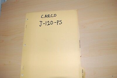 CARCO J-120-PS tractor dozer crawler Winch Service Owner Operator Parts manual for sale  Shipping to Canada