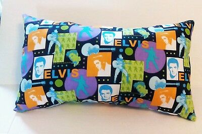 ELVIS 12x21 Cotton Decorative Pillow-Handmade-Home Decor-Bedding
