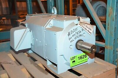 Reliance 60 Hp Dc Electric Motor Frame Mc3212atz 500 Volt Rpm 850