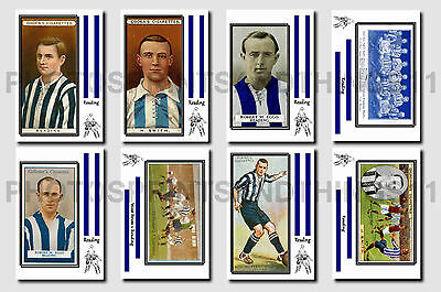 READING -  CIGARETTE CARD HISTORY 1900-1939 - Collectable postcard set # 1