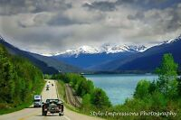 Private taxi/ transport service for Banff, Jasper, Lake Louise