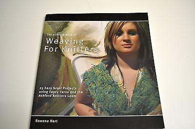 Buch The Ashford Book of  Weaving For Knitters Rowena Hart 65 Seiten