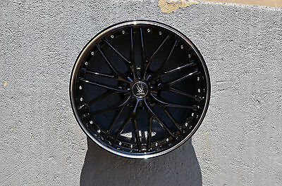 Set Of 4 Wheels 19 Inch Black Machined Rims 19X8 5 Fits Infiniti G37 Coupe
