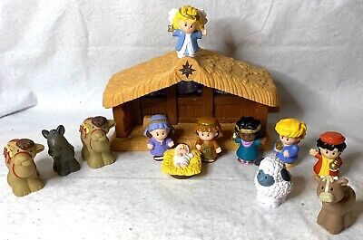 Fisher Price Little People Christmas Nativity w/ Lights & Sounds. Open Box