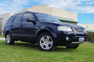 2007 Ford Territiory Ghia -7 Seater - Leather -Dvd player Wangara Wanneroo Area Preview