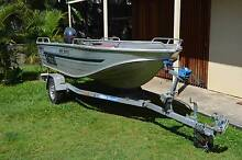 Quintrex Hornet 4.00 Wide Body Boat 2002 Very Good Condition New Farm Brisbane North East Preview