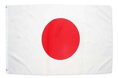Fahne Japan Querformat 90 x 150 cm japanische Hiss Flagge Nationalflagge WM 2018