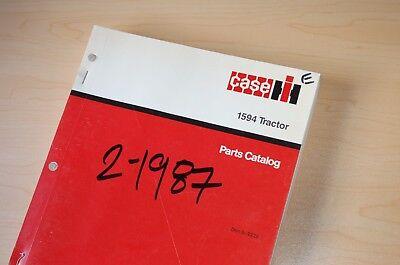 Case Ih 1594 Tractor Parts Manual Book Catalog List Index Farm Spare 8-2222 1987
