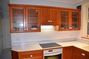 RECYCLED OREGON TIMBER KITCHEN Kirrawee Sutherland Area Preview