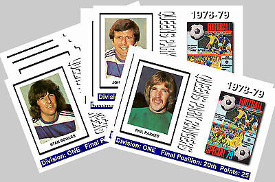QPR - 1978/79  SERIES 2 - COLLECTORS POSTCARD SET