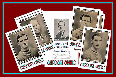 ABERDARE ATHLETIC - RETRO 1920's STYLE - NEW COLLECTORS POSTCARD SET
