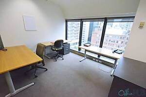 Melbourne CBD - Light filled, furnished office for 5 people Melbourne CBD Melbourne City Preview