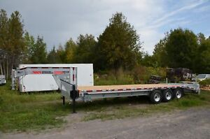 2020 N + N 22+5 Galvanized Deck Over Equipment Trailer