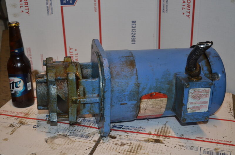 Gusher MSD4-1-100FS Coolant Pump;1HP;3 Phase; INV=26493