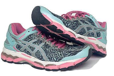 Women's Asics Gel-Kayano 22 Lite-Show Running Shoes Aqua Size US 9.5 (T5A6N)