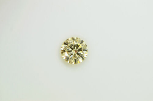 GIA Certified Diamond Loose 1 ct Fancy Yellow Brown Round Brilliant Natural Real 8
