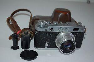 Fed-2, Type D4, Vintage 1963 Soviet Rangefinder Camera & Case. 3458765. UK Sale