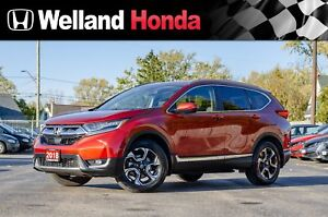 2018 Honda CR-V Touring - ACCIDENT FREE|NAVIGATION|LEATHER