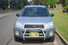 2001 Toyota RAV4 EDGE 2 DOORS,AUTO,AIR,LONG REGO,BOOKS Mays Hill Parramatta Area Preview