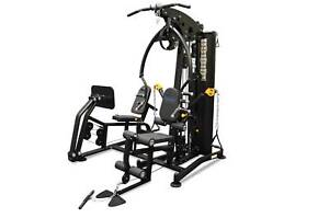 Home gym Multi Station Steel Weight Stack New with LEG PRESS
