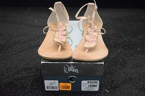 Womens Wittner Size 41 - 42 Pink leather sandal shoes East Maitland Maitland Area Preview