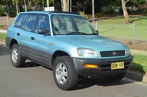 1996 Toyota RAV4 4X4  AUTO,AIR,STEER,REGO CHEAP CHEAP Pendle Hill Parramatta Area Preview