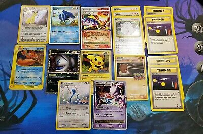 Pokemon TCG Card Lot - HOLO RARE PROMO lvl X EREADER PRERELEASE SHINY JAPANESE