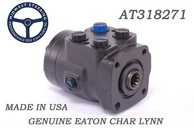 John Deere At318271 Steering Valve Char-lynn New Replacement Made In Usa