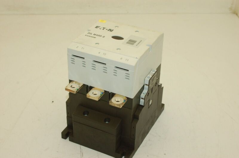 EATON DIL-M400-S XTCS400M Contactor, 125-400V, 3-PH