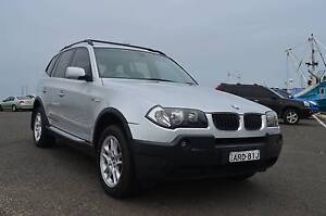 2004 BMW X3 3.0i 4x4 Auto Wagon - LOW KMS, Full service history North Wollongong Wollongong Area Preview